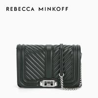Rebecca Minkoff CHEVRON QUILTED LOVE 单肩斜挎小号女包