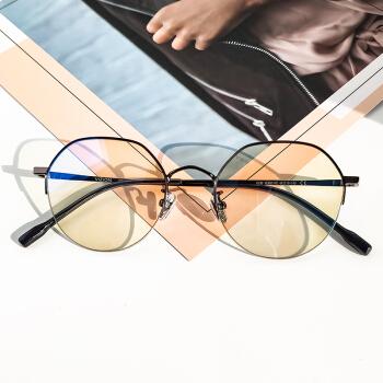 vizion/蔚影防蓝光眼镜 Hermione 赫敏 COZY 约60%阻隔率 异型半框眼镜