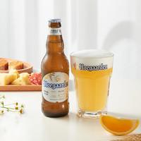临期品:福佳 比利时风味精酿小麦白啤酒 330ml*6瓶