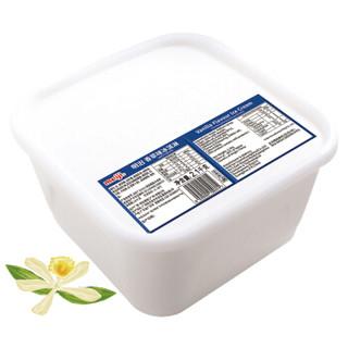 明治(meiji)香草味冰淇淋 2100g/盒 商用业务装