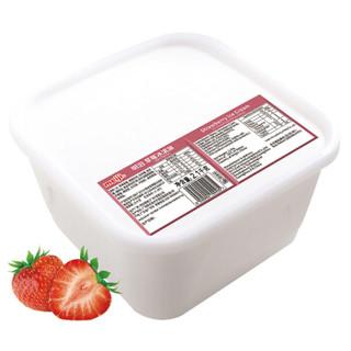 明治(meiji)草莓冰淇淋 2100g/盒 商用业务装