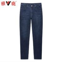 YALU 雅鹿 001 男士直筒牛仔裤