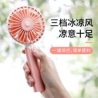 ZHIKU 便携式小风扇 1200毫安 送充电线