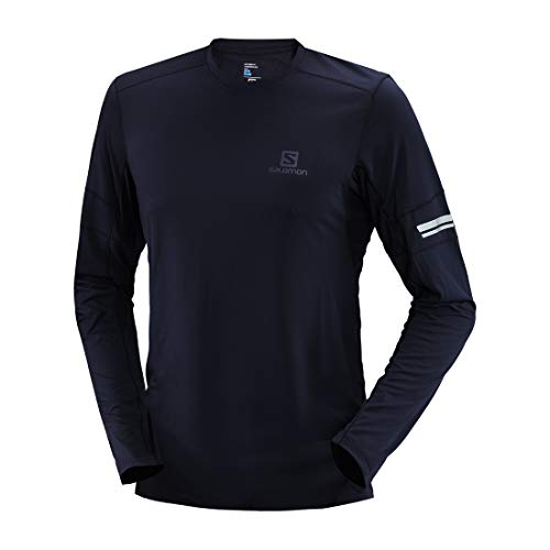 SALOMON 萨洛蒙 CN AGILE LS TEE M LC1020100 男士长袖T恤