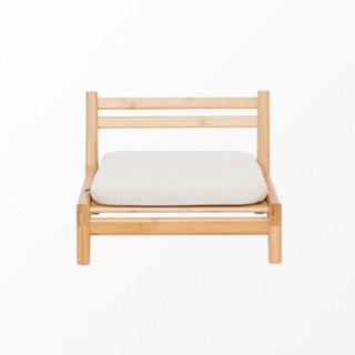 橙舍 cs8507-1 日式竹制禅椅腿凳