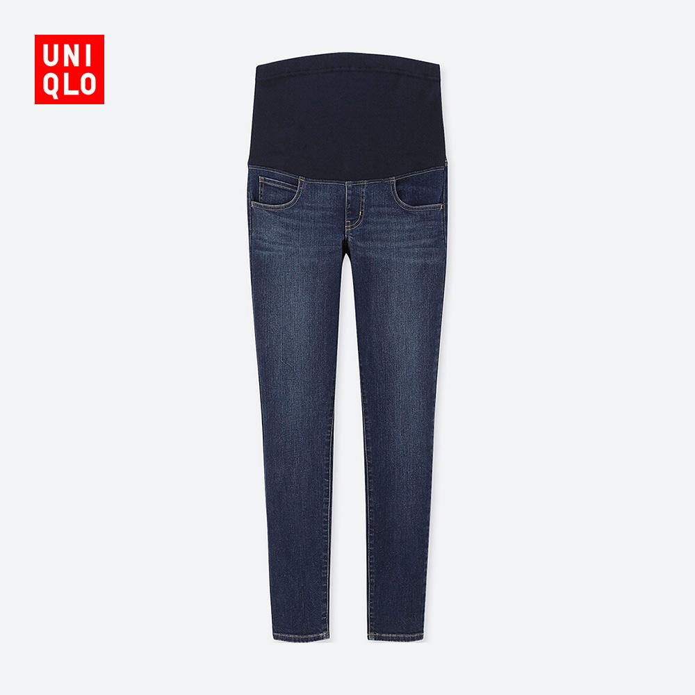 UNIQLO 优衣库 孕妇高弹力牛仔裤
