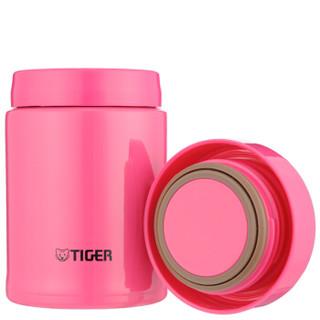 TIGER 虎牌 MCA-A25C-PI 不锈钢焖烧杯 果粉色 250ml