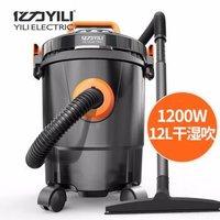 京东PLUS会员:YILI  亿力 6263-12L 桶式吸尘机 实惠版