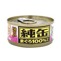 爱喜雅 纯缶 金枪鱼白身薄片猫罐头 70g