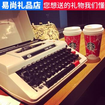 HERO 英雄 收藏款老式金属机械打字机