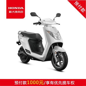 新大洲本田 H1高端电动摩托车 大鲨白