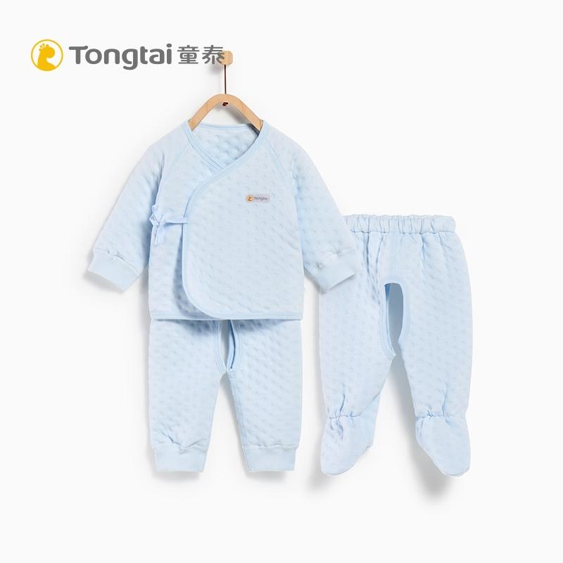 Tong Tai 童泰 婴幼儿纯棉内衣套装 0-3月