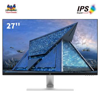 ViewSonic 优派 VX2771-H 27英寸IPS显示器(1080p)