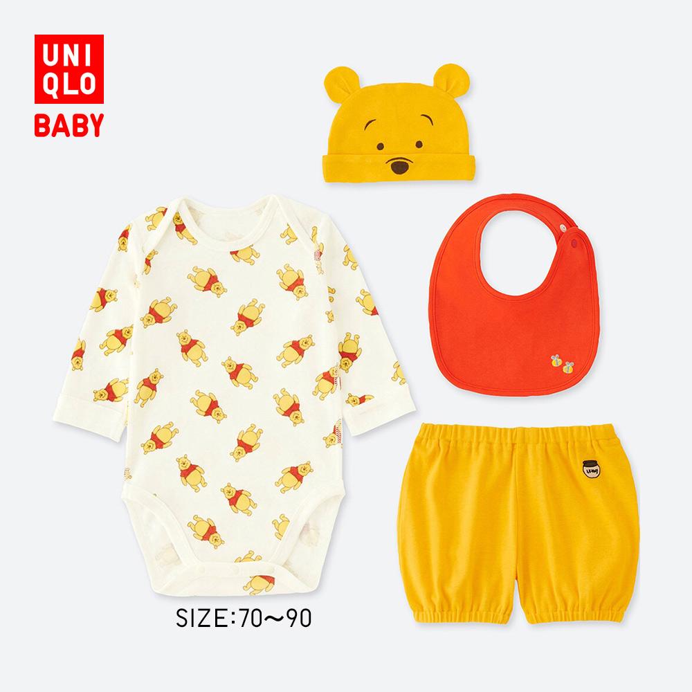 UNIQLO 优衣库 412387 婴幼儿DPJ4件套