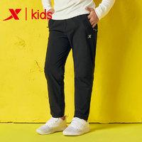 XTEP 特步 儿童针织长裤
