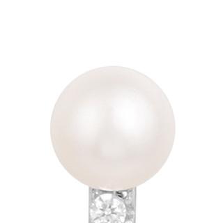 apm MONACO YACHT CLUB系列 AE10168XPL 银镶晶钻淡水珍珠耳钉
