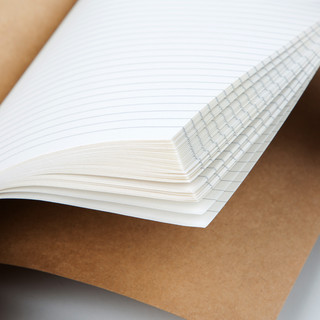 GuangBo 广博 牛皮纸笔记本 A5/40张 5本装