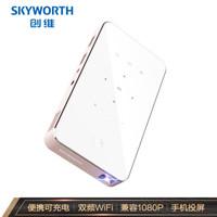 百亿补贴、移动专享:Skyworth 创维 小湃 P1pro 便携投影仪