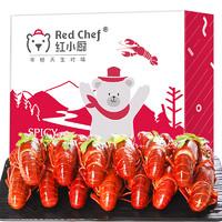 红小厨 麻辣小龙虾即食虾尾冷冻 3.6斤盒装 净重1000g *2件