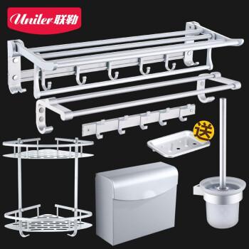 Uniler 联勒 GY-L20T6A 浴室置物架 (银色)