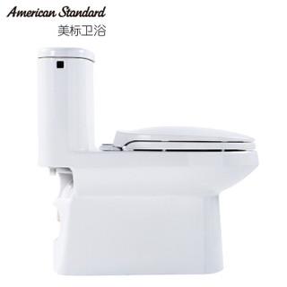 American Standard 美标 CCAS1841 凯德4/6升顶按节水型连体马桶 305mm