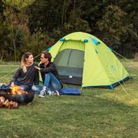 历史低价:NatureHike NH15Z003-P 双人铝杆帐篷