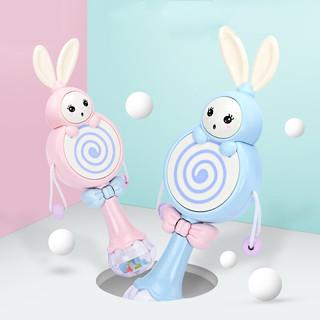 zhienb 智恩宝 兔子带音乐拨浪鼓