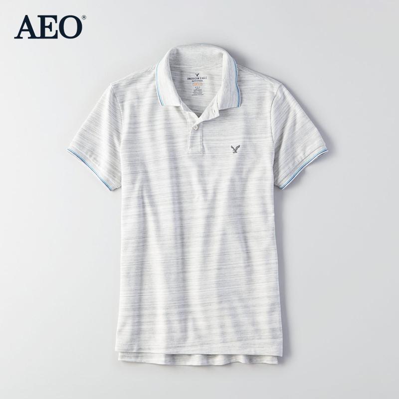 AMERICAN EAGLE 1165_8583 男士短袖POLO衫