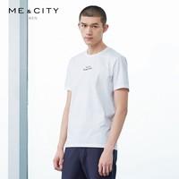 ME&CITY 508082 男士文艺短袖T恤