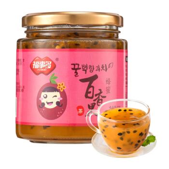 福事多 百香果茶 600g