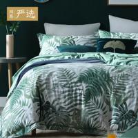历史低价:网易严选 迷雾雨林 40支全棉床上四件套 1.5m