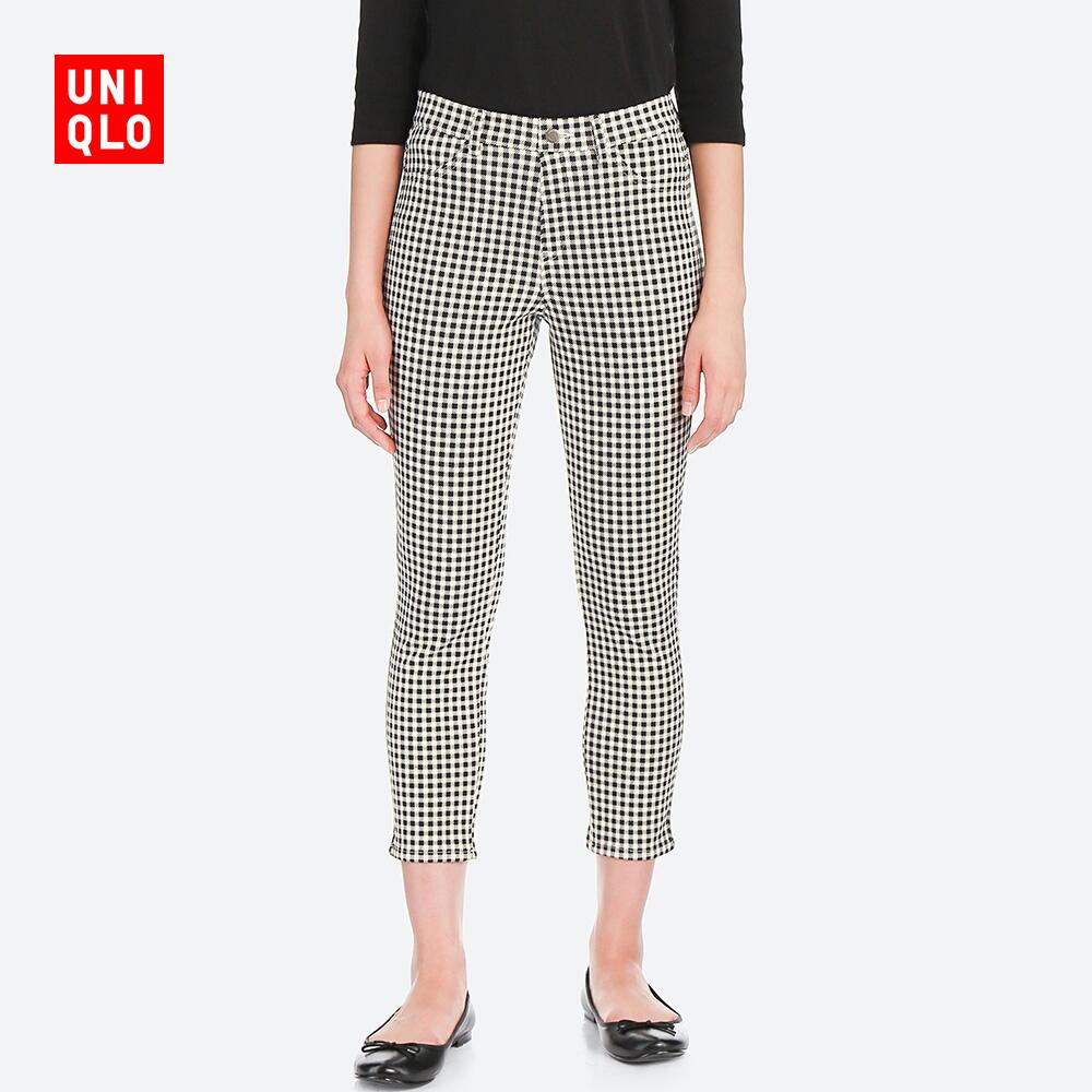 UNIQLO 优衣库 408580 女士七分裤