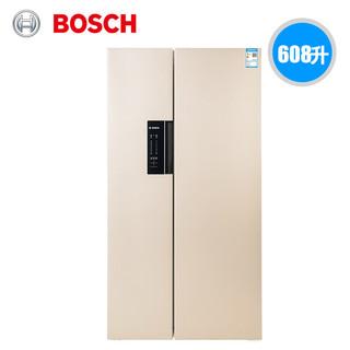 BOSCH 博世 BCD-608W(KAN92EM6TI) 608L 对开门冰箱
