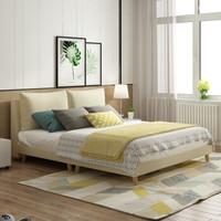 A家家具  DA0120-180 可拆洗软靠床 (1.8米床)