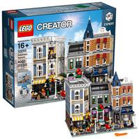 21日10点、考拉海购黑卡会员:LEGO 乐高 创意百变街景 10255 10周年集会广场