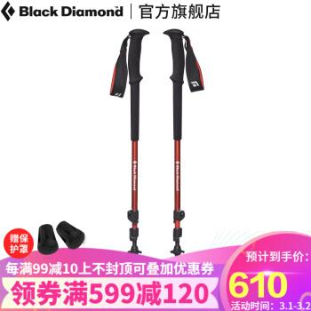 Black Diamond Trail Trek 112154 登山杖