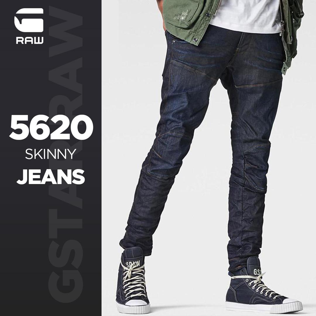 G-STAR RAW 5620 Elwood 男士修身牛仔裤