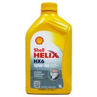 Shell 壳牌 合成机油 黄喜力 Helix HX6 10W-40 A3/B4 SN级 1L *12件