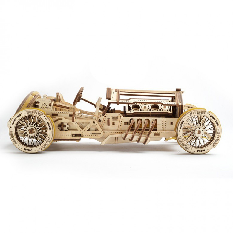 Ugears 木质机械传动模型 豪华老爷车