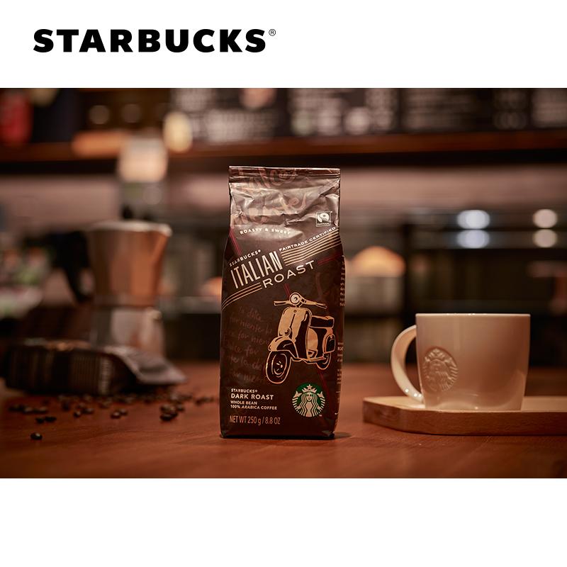 STARBUCKS 星巴克 意式烘焙 咖啡豆 250g