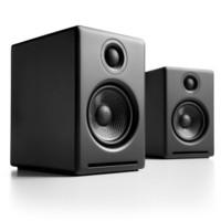 Audioengine 声擎 A2+W 高级桌面有源音箱  缎黑