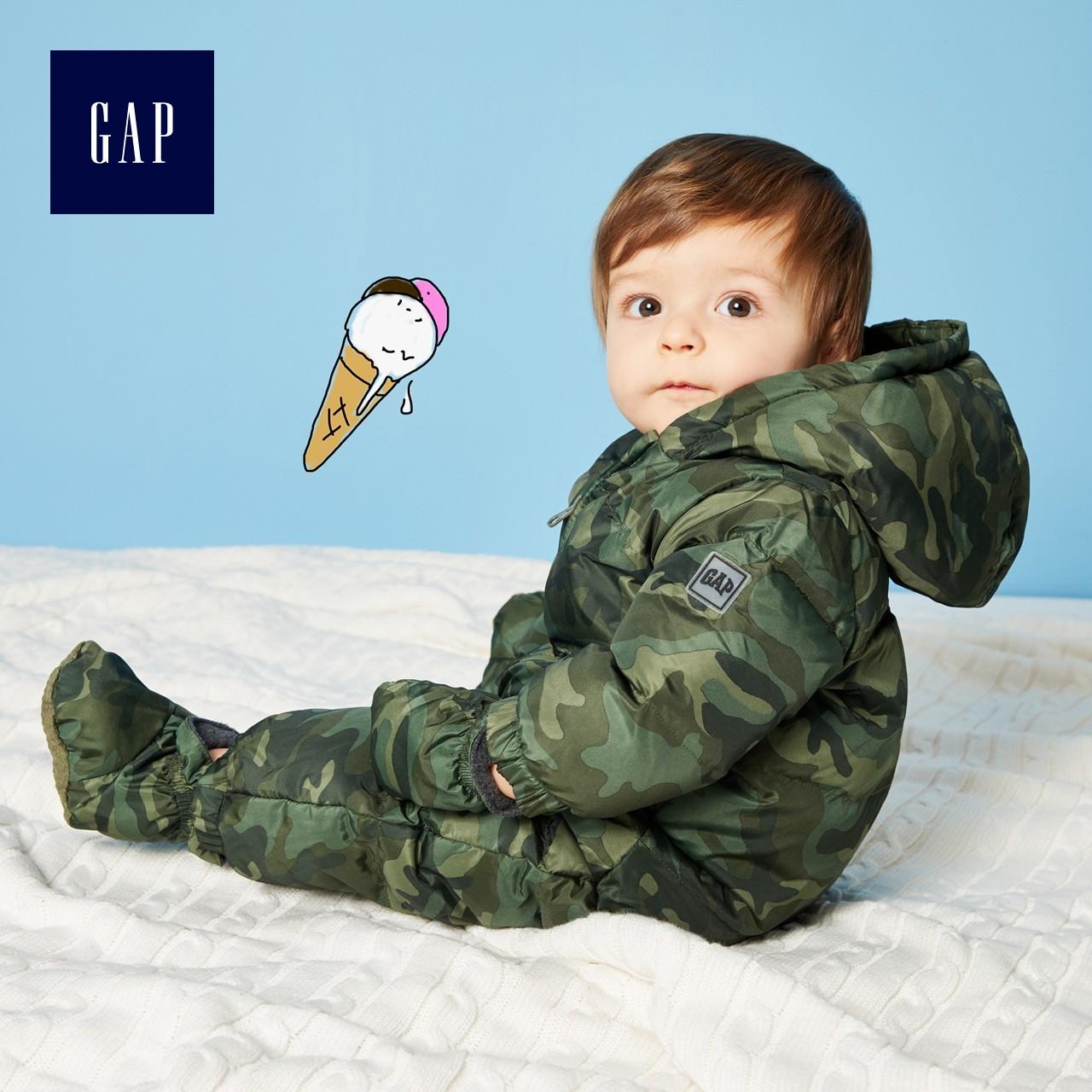 Gap 盖璞 864172 Y 婴儿连体衣