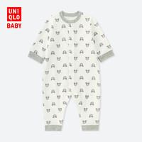 UNIQLO 优衣库 400375 婴儿压线连体装