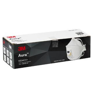 3M Aura 9334CV+ 头戴式口罩 3只*3盒装