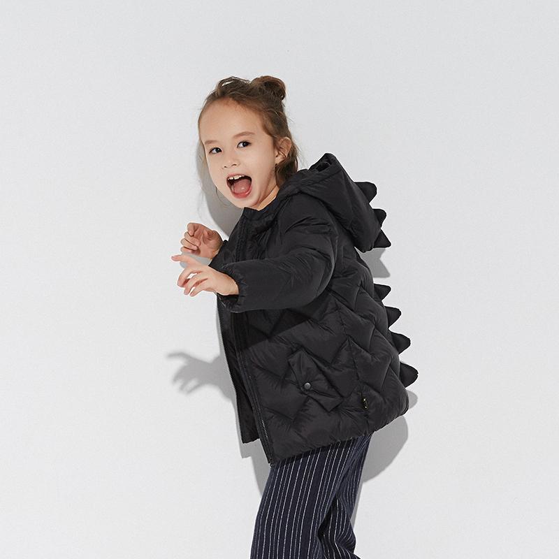 考拉工厂店 经典款 儿童羽绒服 (卡通小恐龙 )