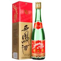 西凤酒 绿瓶 光瓶 55度 单瓶装白酒 500ml