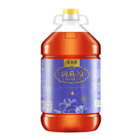 Somia 索米亚 清香型胡麻油(传统小磨压榨)亚麻籽油 5L