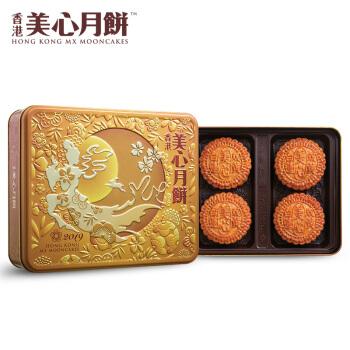 美心 双黄白莲蓉月饼礼盒 740g