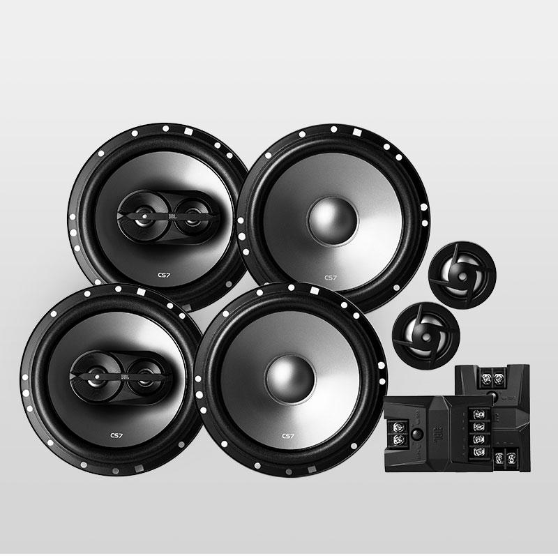 JBL汽車音響喇叭 CS760C 改裝6.5寸套裝