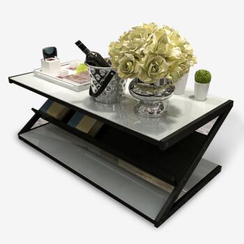 雅美乐 YZCJBW4 钢化玻璃茶几 120*60cm